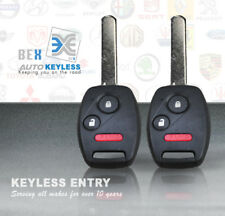 2 Replacement Remote Key Fob for 2006-2014 Honda Ridgeline OUCG8D-380H-A