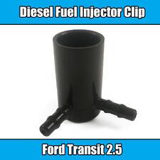 1x Clip For Ford Transit Common Rail Fuel Injector Leak Off Clip Black Plastic