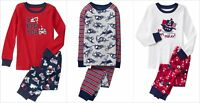 NWT Gymboree Baby Boys Valentine Dinosaur Pirate Trucks Gymmies Pajamas Set