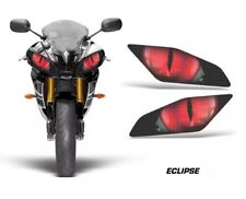 yamaha r6 2006-2015 Headlight Eye Stickers Red Graphics Eyes Decals