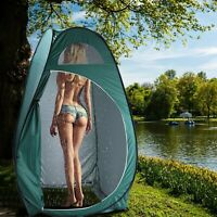 Portable Outdoor Pop-up Tent for Toilet Dressing Fitting Room Privacy Shelter