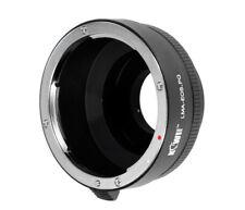 Objektivadapter für Canon EF Objektive an Pentax Q Kameras