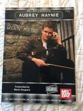 Aubrey Haynie Doin' My Time Fiddle solo sheet music