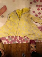 Ragdoll & Rockets Jacket Yellow & Grey Girls Small Nwot