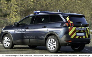 1:43 Peugeot 5008 Gendarmerie 2020 NOREV 473896 - Précommande Fin Août 2021