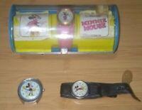 (Lot of 3) Mickey mouse timex electric, bradley mickey and bradley minnie watch