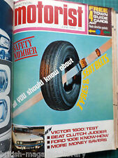 Practical Motorist 1968 Test: Vauxhall Victor 1600 Ford 100E Goodyear G800 Tyre