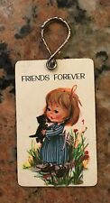 "1980S Friends Forever  Keychain Paula Key rings  3"" X 2"""