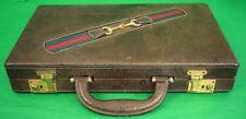 """Fab Gucci c70s Backgammon Travel Board Set"""