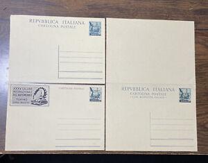 Trieste Zone A Seventeen Postal Cards