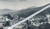 Badenweiler - Blick über den Ort - um 1965 -   L 3- 18