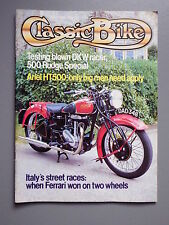 R&L Mag: Classic Bike 1982 March, DKW 250SS/Ariel HT5 Amazon/500 Rudge Special