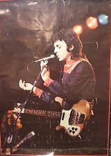 Large Original Vintage Poster - Paul McCartney 1970's