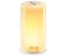 Wake-Up Light Alarm Clock- Sunrise Simulation Digital LED Clock