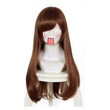 Free Cap +Track NO D.VA DVA Anime Game Costume Cosplay Wig A01