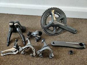 Shimano Ultegra 6800 full groupset with cassette very good condition