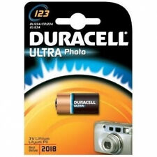 Duracell 3v Camera Photo Lithium Battery 123 Cr123