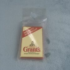 Grants Whisky Security Key Wallet Sealed in Polybag