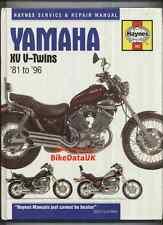 Yamaha Virago XV535 XV1100 (81-96) Haynes Manual XV 535 700 750 1000 1100 AN25