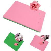 Modelling Paste Fondant Mat Flower Sponge Cake Pad For Sugar Decors SL