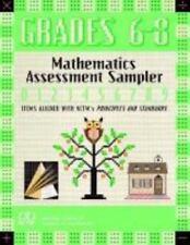 Mathematics Assessment Samplers: Mathematics Assessment Sampler, Grades 6-8 :...
