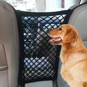 Dog Car Net Isolation Fence Elastic Safety Travel Cat Pet Back Seat Barrier Mesh