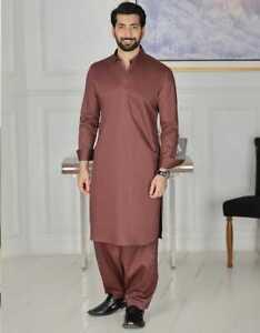 Junaid Jamshaid Traditional Men's Long Sleeves Kameez Shalwar -