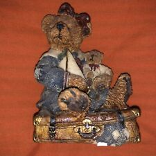Boyds Bears Baily Bear With Suitcase #2000 *No Box*