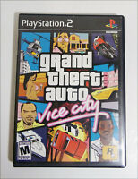 Grand Theft Auto: Vice City Sony Playstation 2 Ps2 Video Game Complete W/Manual
