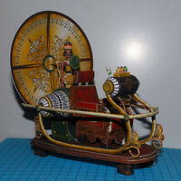 Time Machine Paper Model Puzzle Student Handicraft Course DIY Fans Gift TS