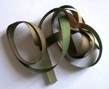 1 m d'ancien ruban fin en soie larg: 9 mm pour MINIATURE , croix de guerre 14/18