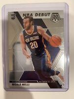 2019-20 Panini Mosaic - Nicolo Melli - Rookie - NBA Debut Pelicans #279 (RC)