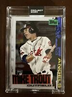 TOPPS PROJECT 2020 #85 - 2011 Mike Trout by Jacob Rochester With Box