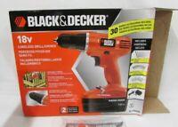 BLACK+DECKER 18v Cordless Power Drill with 30 Accessories plus 8 volt drill free