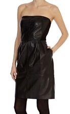 Bnwt *Coast* 100% Leather Elza Dress , Black (size Uk 10)