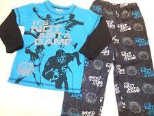 Boys pajamas Boys Pjs Boys sleepwear Football Baseball Its not just a game Sz 4