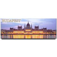 Hungarian Parliament panoramic fridge magnet Budapest travel souvenir Hungary