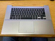 COMPLETE Dell Inspiron 15 5580 Silver Laptop Palmrest 0K8HH4 (S17)