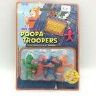 1985 Imperial Poopa Troopers Parachute Figures Sky Diving Novelty Toy Set of 4