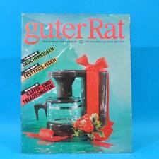 Guter Rat 4-1989 Verlag für die Frau DDR Farbfernseher Color 40 Römertopf WC B