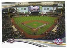 2017 Topps Opening Day at the Ballpark Insert #ODB-4 Milwaukee Brewers