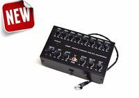 8 Band Sound Equalizer NOISE GATE Echo Compressor YAESU Radio RJ-11 mic FT- FTM-