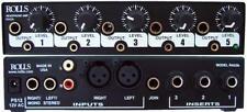 Rolls RA53B - 5-Channel 1/2 Space Rackmount Stereo Headphone Amplifier