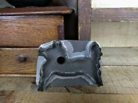 Vintage Tin HORSE PONY Cookie Cutter Flat Back PA Folk Art
