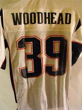NEW-NO-FRONT #39  DANNY WOODHEAD PATRIOTS MENS S SMALL Reebok Jersey