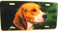 Novelty license plate Beagle Dog aluminum plate new auto tag Made in U.S.A. 2157