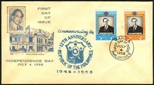 Philippines 1958 Independence Day FDC