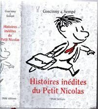 HISTOIRES INEDITES DU PETIT NICOLAS # GOSCINNY & SEMPE