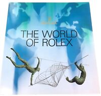 """.EXCELLENT CONDITION 1995 ROLEX """"THE WORLD OF ROLEX"""" LARGE BOOKLET."""