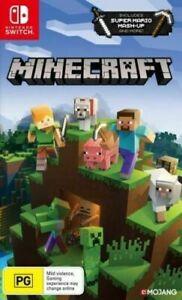 Nintendo Switch - Minecraft NEW game